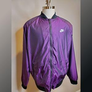 Nike Purple Windbreaker New with Tags